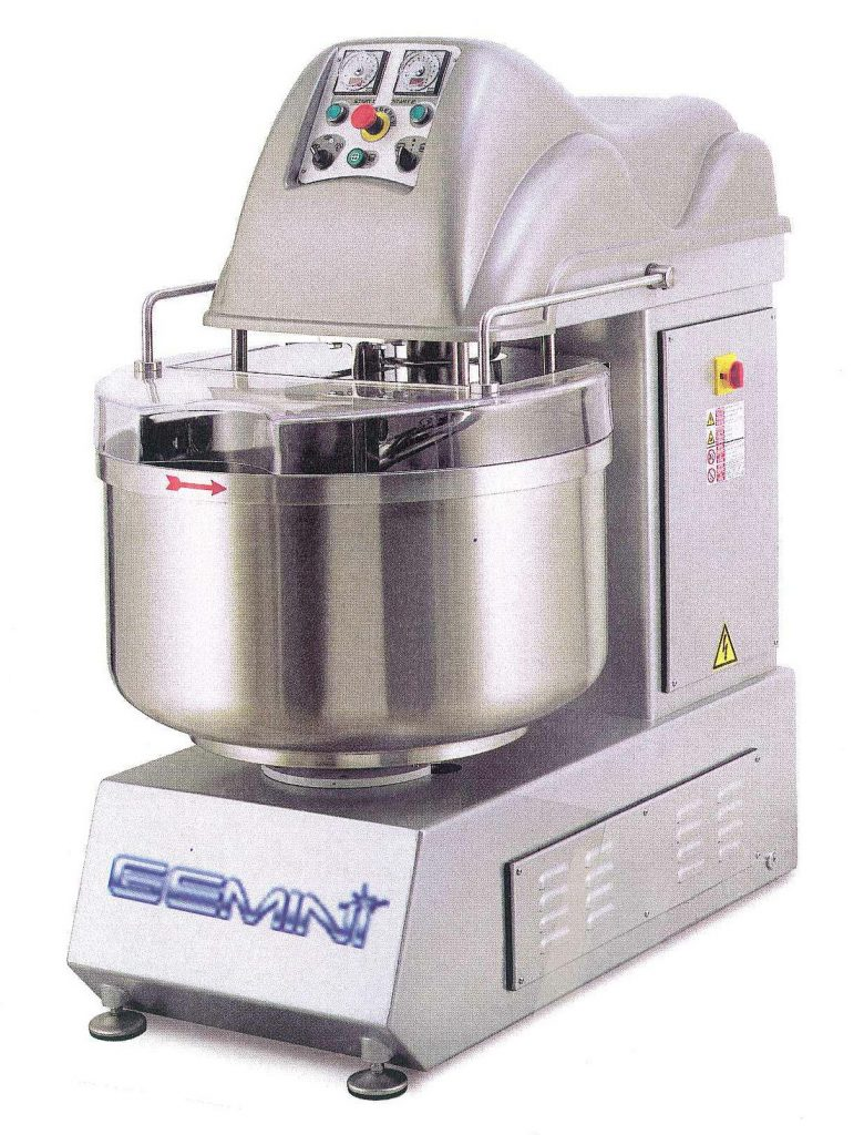 GBE Series Fixed Bowl Spiral Mixers 1